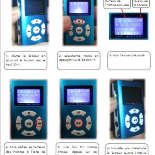 Utilisation du lecteur MP3