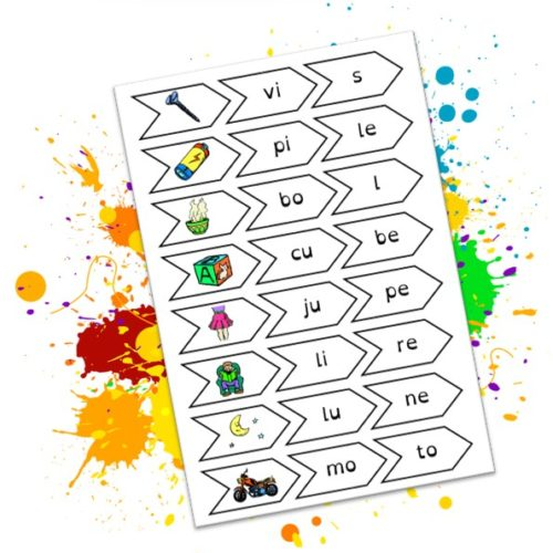 Phonologie: puzzles de syllabes