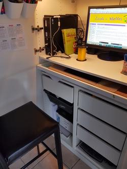 Mon bureau à la maison