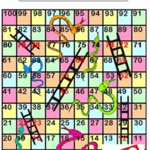 Jeux de plateau pour travailler les nombres jusqu'à 100