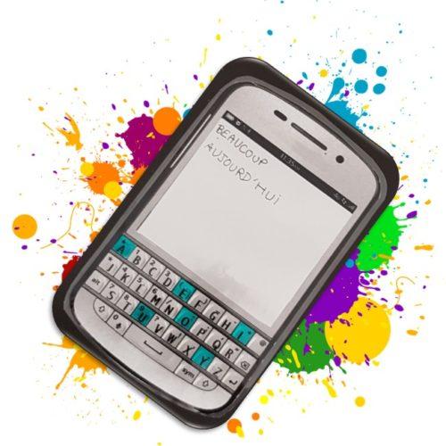 Un faux smartphone au service de l'orthographe