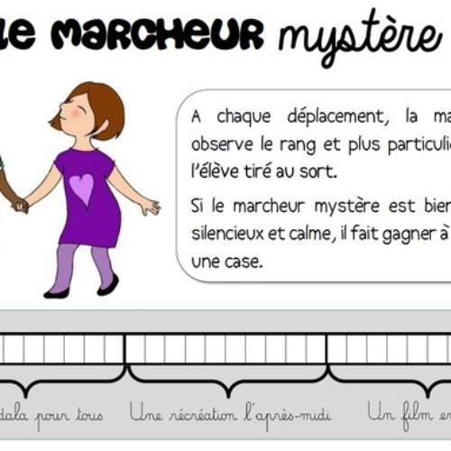 Le marcheur mystère