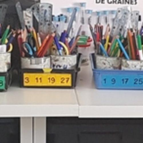Gestion du matériel des élèves